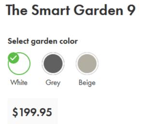 Smart Garden 9 price