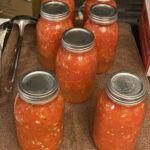 Canned Stewed Tomatoes and Marinara