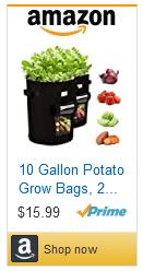 Grow bags for underground veggies