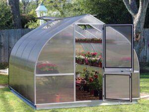 Hoklartherm Riga 4 Greenhouse 10 ftx14ft