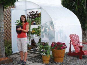 Solexx 8ftX12ft Harvester Greenhouse lean-to