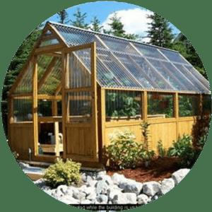 Wood Frame Greenhouse